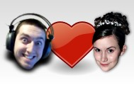 Pia, Jeff and a loveheart :)